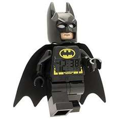 Amazon: Reloj Despertador Batman, color Negro a $399.80