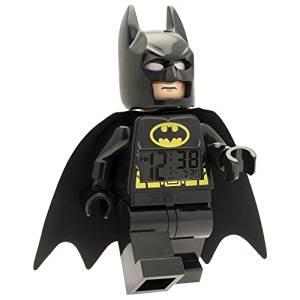 Amazon: Reloj Despertador Batman, color Negro a $399.80