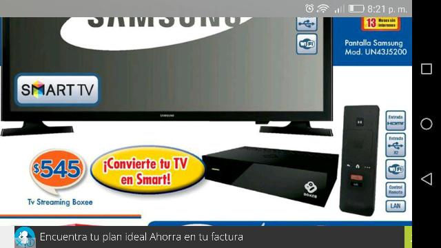 Chedraui: convierte tu pantalla en smar tv a $545