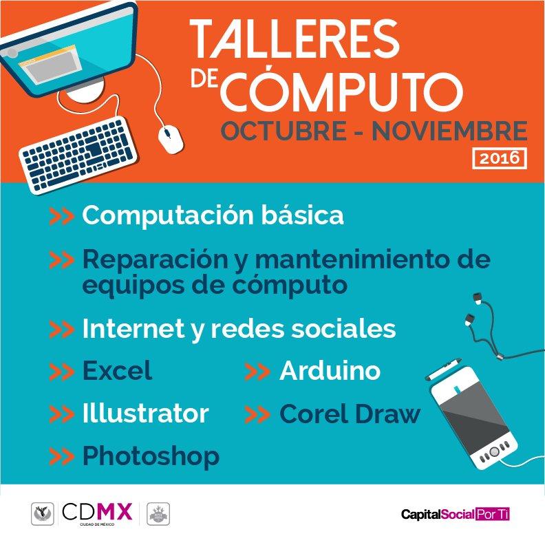 Talleres de Computo Gratis (Solo CDMX)