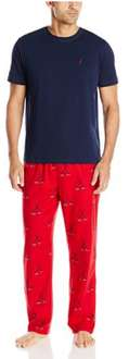 Amazon: Nautica Pijama Set con playera y hockey-print Pant para hombre