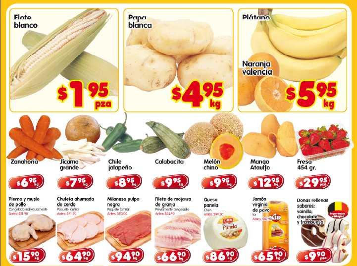 Frutas y verduras HEB: elote $1.95 pza, papa $4.95 y más
