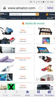Amazon: Outlet  de verano