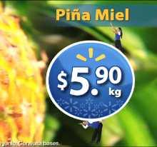 Martes de Frescura en Walmart junio 5: piña $5.90, uva $19.90 y más