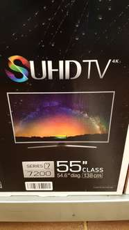 Walmart Irapuato: 55'' UHD 4K Curved Smart TV HU7200 Series 7 a $14,995.01