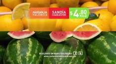 Comercial Mexicana y Mega: Hoy es Miércoles 28 Septiembre: Naranja Valencia o Sandía Charleston $4.80 kg; Manzana Golden o Jitomate Saladet $17.50 kg.