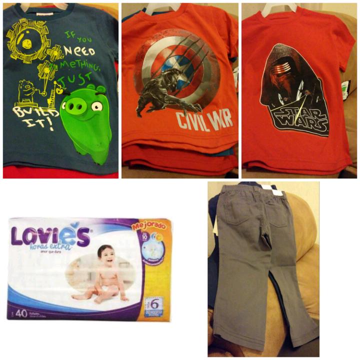 Walmart: pañales Lovies etapa 6, playeras de niño y pantalones de bebé en liquidación