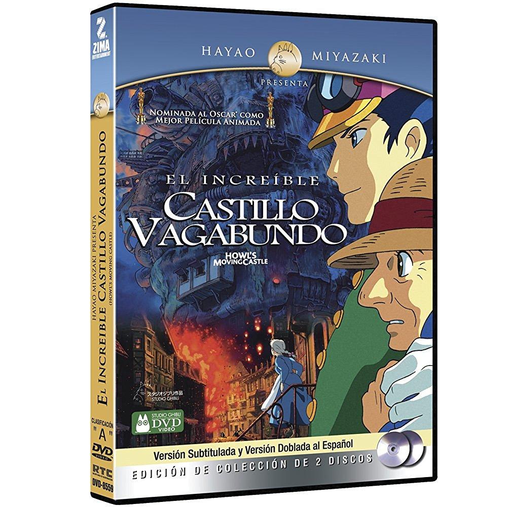 Amazon: DVD El Increible Castillo Vagabundo Edición Especial, 2 Discos