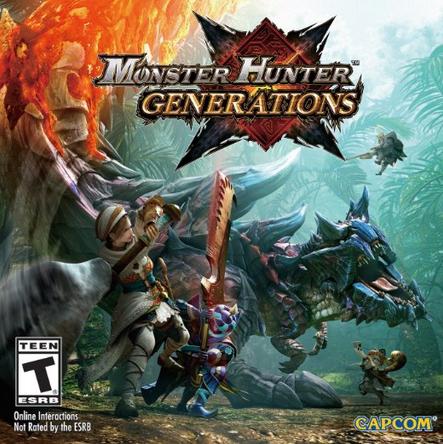Amazon: Monster Hunter Generations 3DS