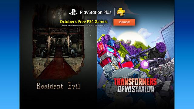 PSN Plus: Juegos Gratis Octubre 2016