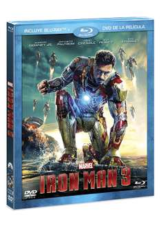Amazon MX: Iron Man 3 (BR + DVD Combo Pack)