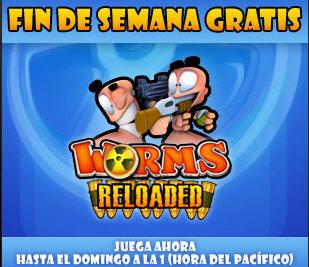 Steam: Worms Reloaded gratis el fin de semana y con 66% de descuento