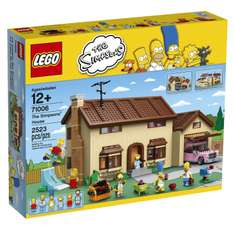 Amazon: La casa de los Simpsons Lego a $2,847