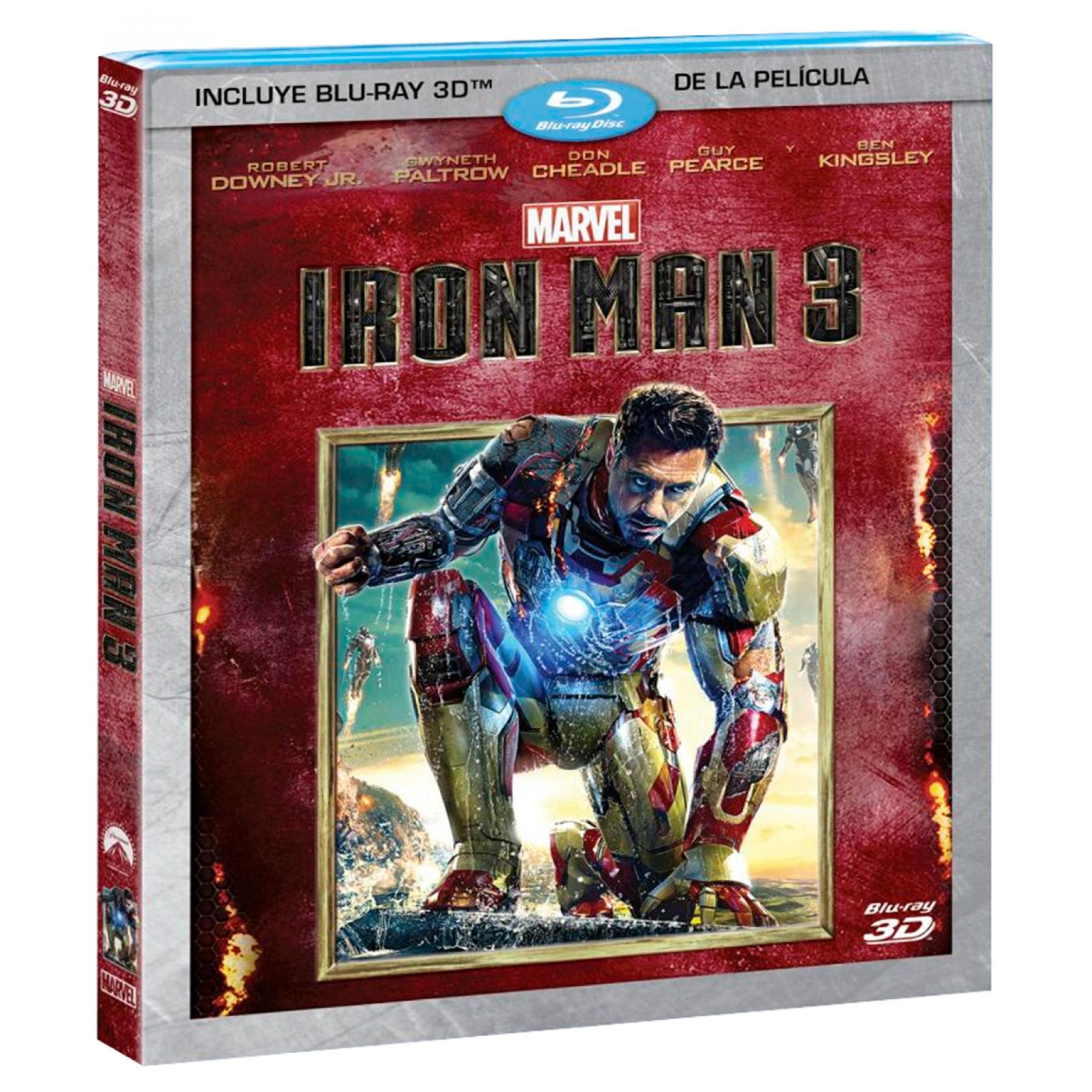 Palacio de Hierro: Blu-ray Ironman 3D a $138, Blu-ray 3D La Sirenita a $120