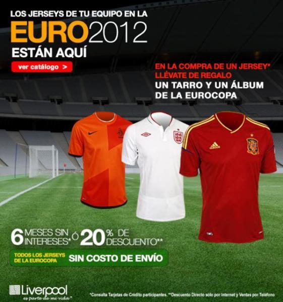 Liverpool: jerseys de la Eurocopa con 20% de descuento y tarro y álbum de regalo