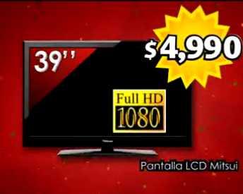 """Bodega Aurrerá: pantalla de 39"""" o de 42"""" a $4,990"""