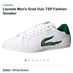 Amazon MX: Tenis Lacoste blanco talla 8.5MX, a solo $592