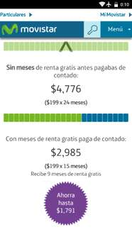 Movistar: Planes pago anticipado.