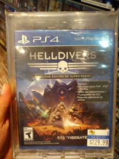 Game Planet Plaza del sol, Querétaro: Helldivers Super Earth Ultimate Edition  ps4 $229.99,
