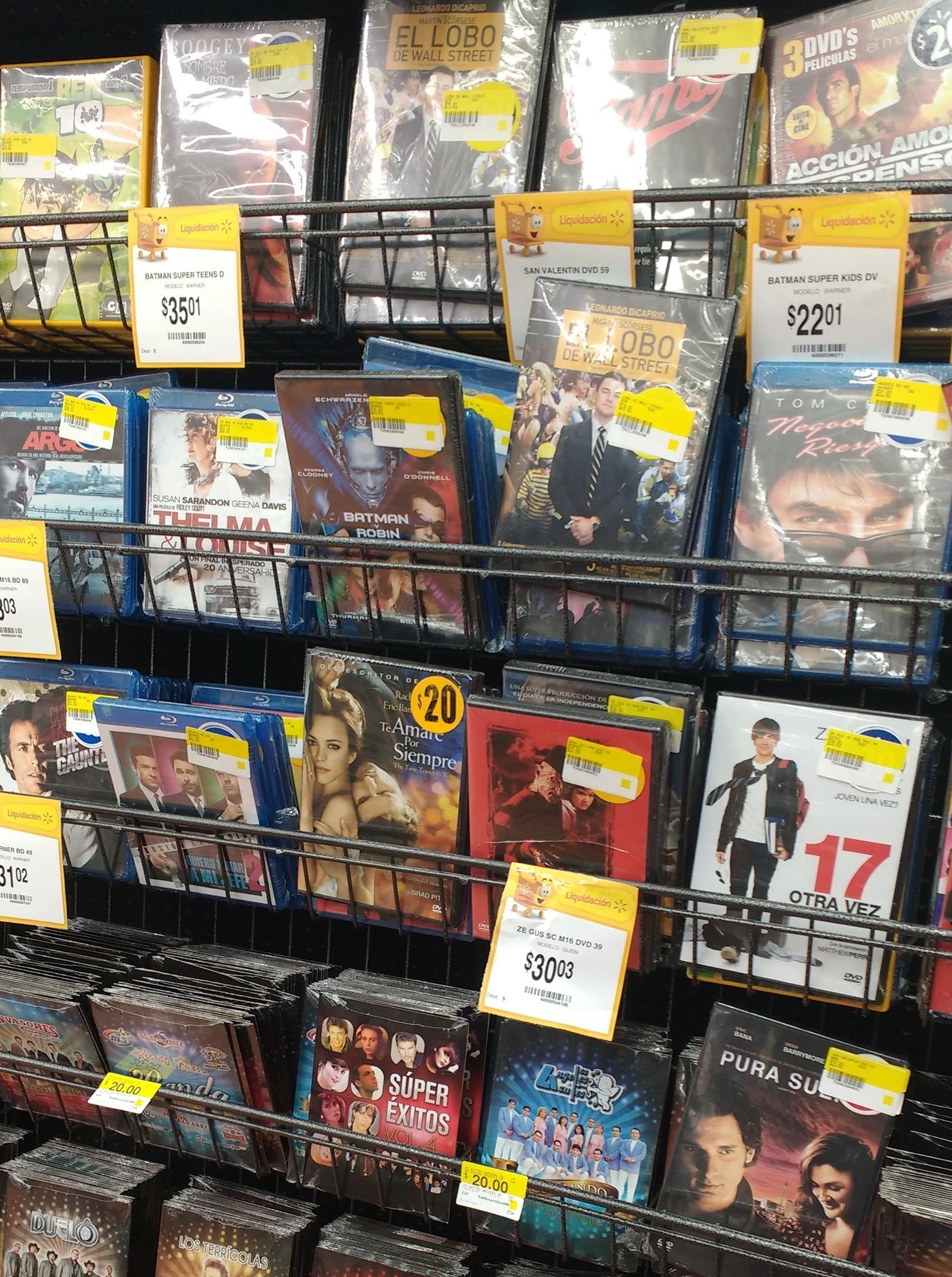 Walmart: DVD´s y Blu-ray (Varios) desde $5