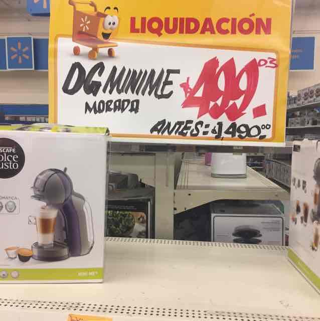 Walmart: Mini Me Dolce Gusto a $499.03