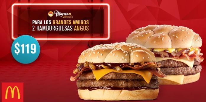 Martes de McDonald's: 2 Angus a la carta por $119, 2 McFlurry por $39 y más
