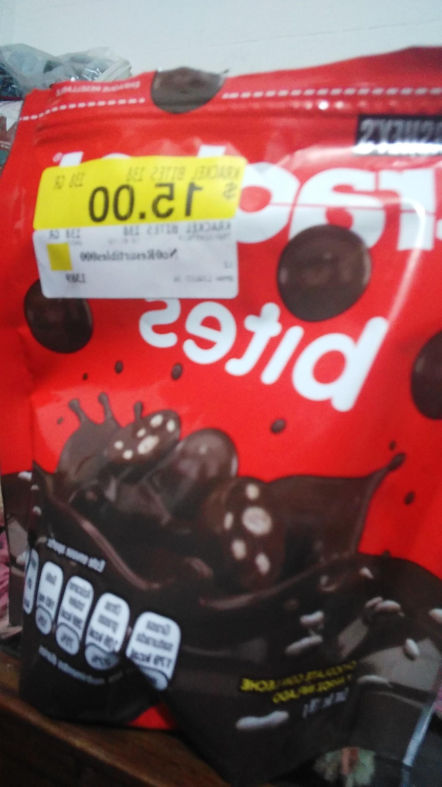 Walmart Santa Maria: chocolate hersheys 140 gramos