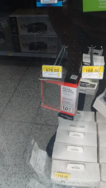 Bodega Aurrerá: Disco Duro Toshiba 1Tb a $679.03