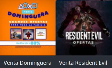 Playstation Store: Venta dominguera y Venta Resident Evil