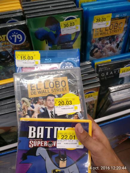 Walmart Poza Rica: Variedad de Películas en liquidación