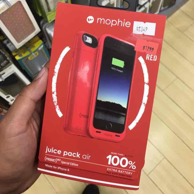 iShop Zona Rosa: Funda Mophie iPhone 6 más del 100%