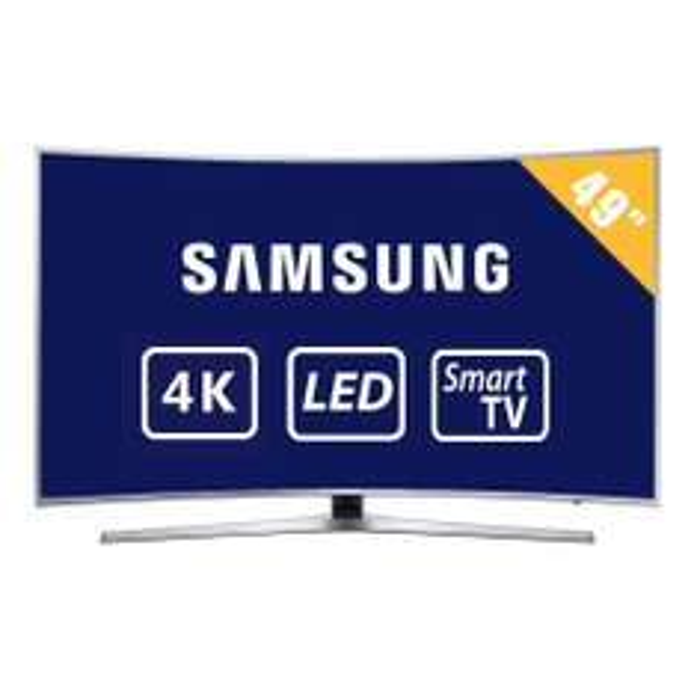 Walmart en línea: TV Samsung 49 pulgadas curva 4k ultra hd smart tv led UN49KU6500FXZX