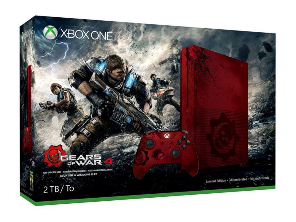Liverpool Online: Preventa Xbox One S 2TB Edición Limitada Gears of War 4 a $8,999
