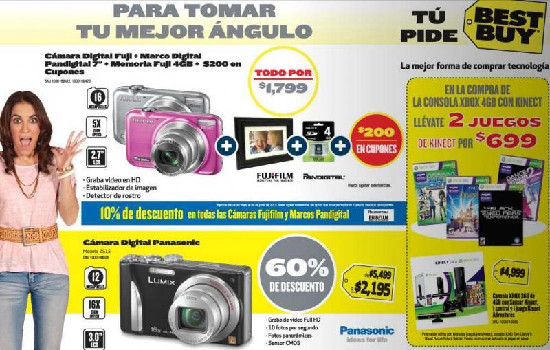 Folleto Best Buy mayo 24: descuentos en bocinas, cámaras, teclados y más