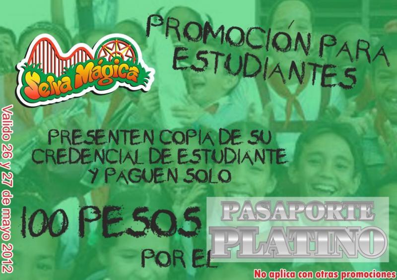 Selva Mágica: estudiantes a $100 y cumpleañeros gratis este fin de semana