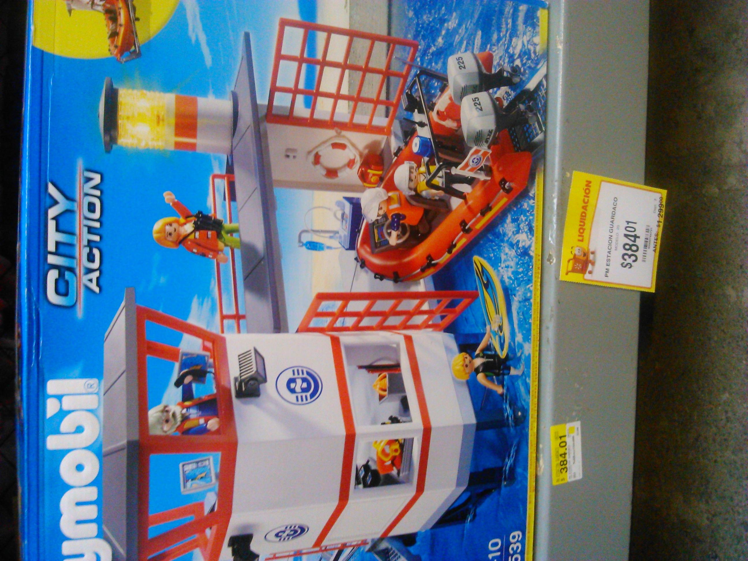 Walmart: Playmobil 5539 Salvamento Marítimo a $384.01