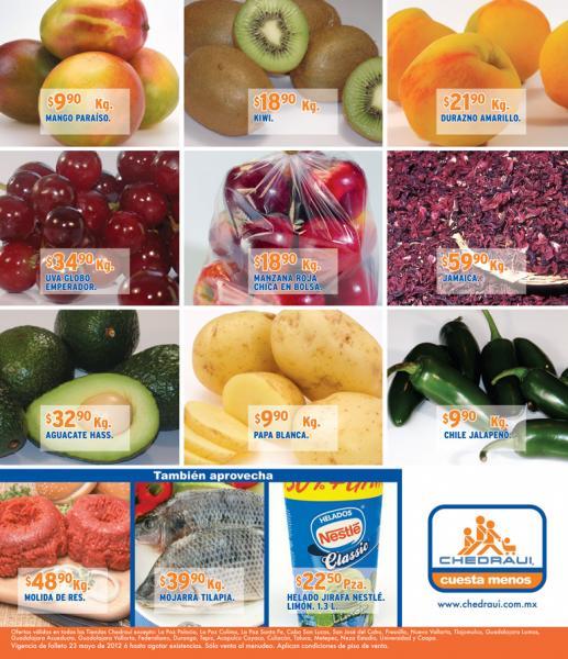 Miércoles de frutas y verduras Chedraui mayo 23: Col $1.90, brocoli $4.90 y más