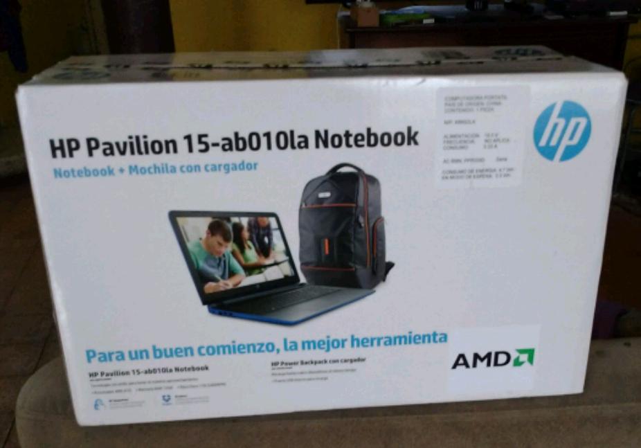 Walmart Felix Cuevas: laptop HP AB010 a $5,999.01