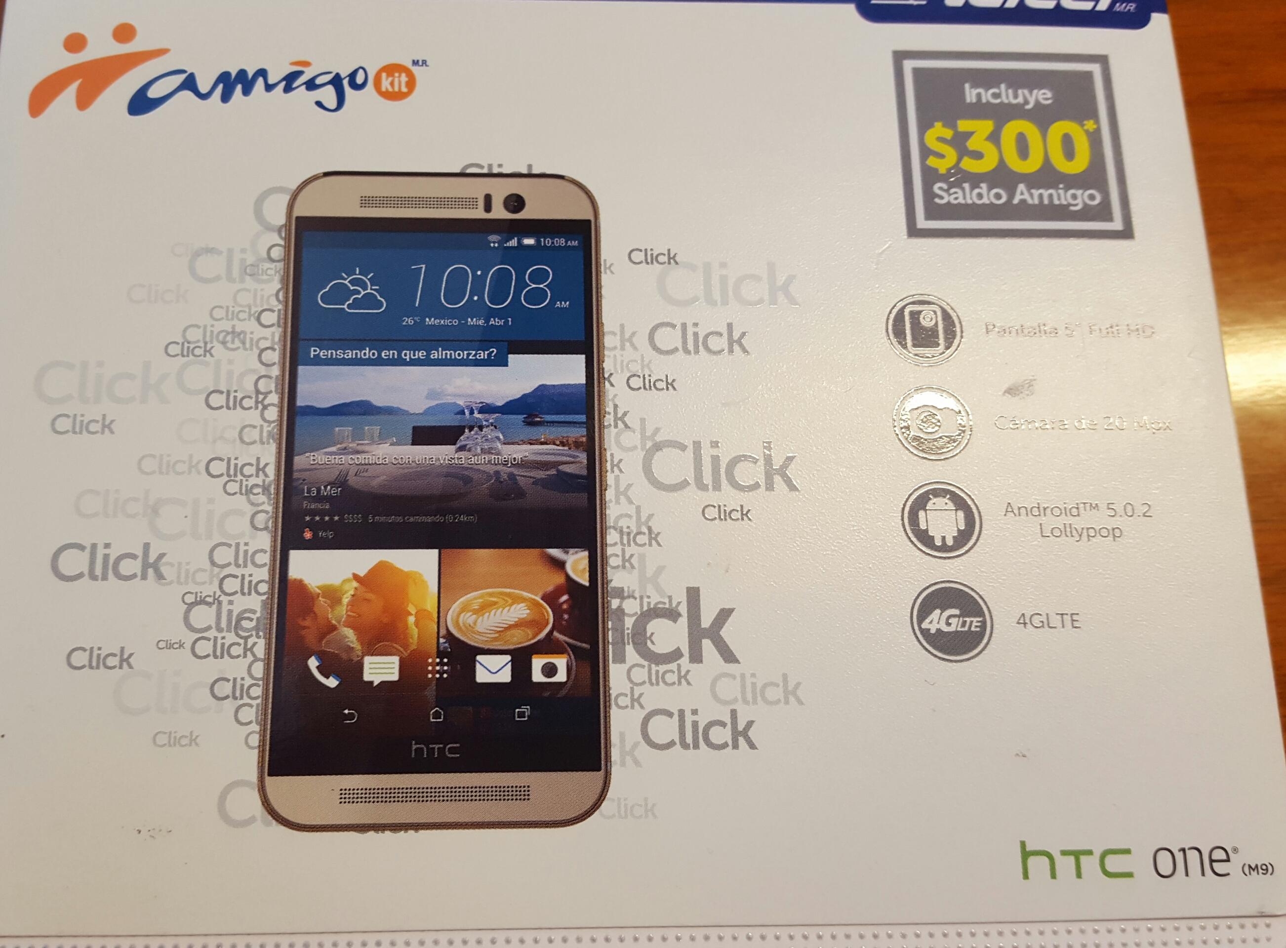 Walmart: HTC One M9 a $ 4,289.01