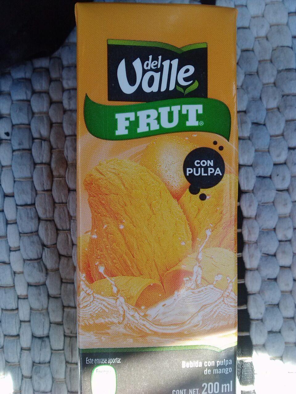 Bodega Aurrerá Saltillo Lourdes: Bebida con pulpa Del Valle Frut 200 ml a $1.02