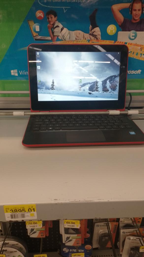 Bodega Aurrerá Av de la Luz Satélite Querétaro: laptop HP a $3,895.01