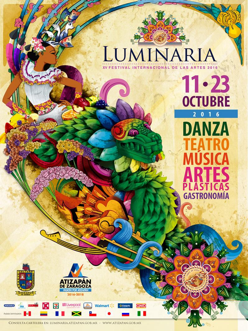 Luminaria Festival de las Artes, Atizapan de Zaragoza 11-23 Octubre, Entrada libre
