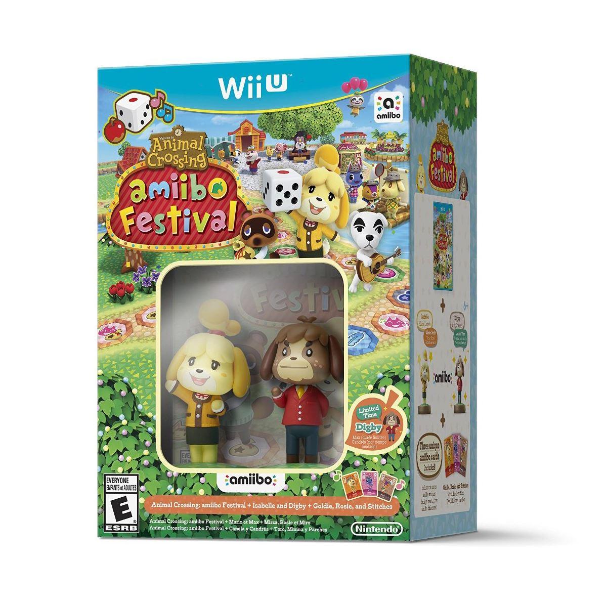 Sanborns: Animal Crossing Amiibo Festival para Wii U (Juego + 2 amiibos)
