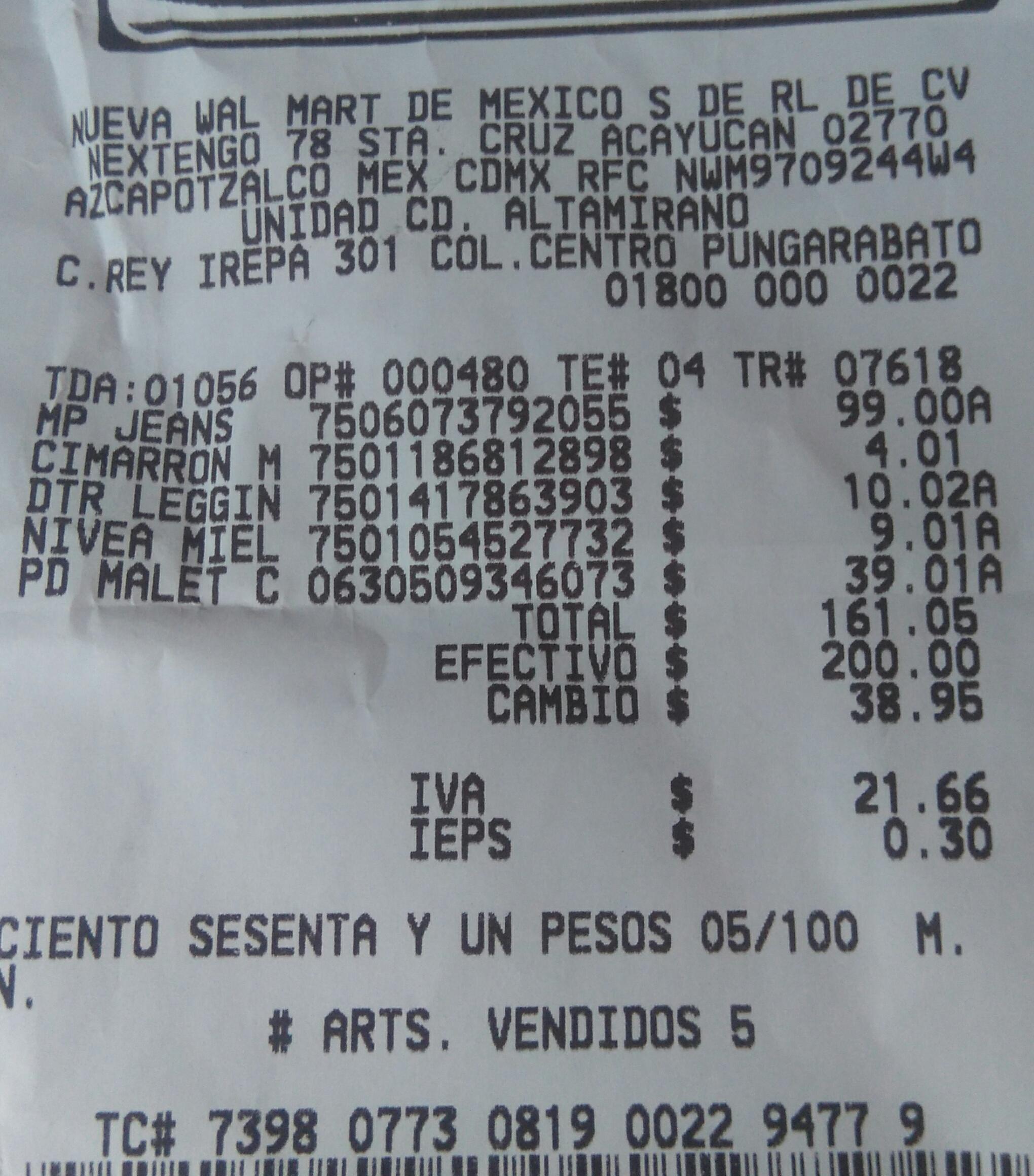 Bodega Aurrerá: acondicionador Nivea bajo la ducha $9.01 y leggin de niña $10.02