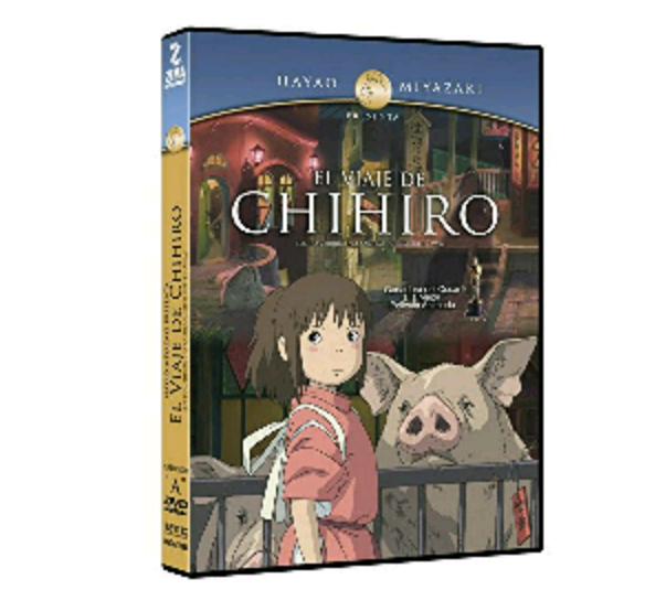 """Amazon: DVDs """"El viaje del Chihiro"""" y """"El increible castillo vagabundo"""" edicion de dos discos"""