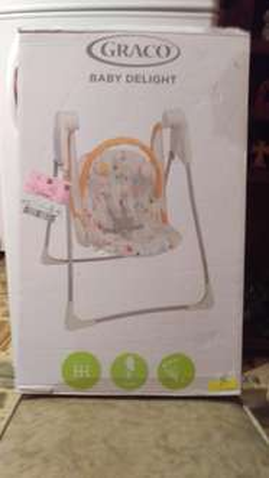 Walmart Av central: columpio para bebés en $200.01