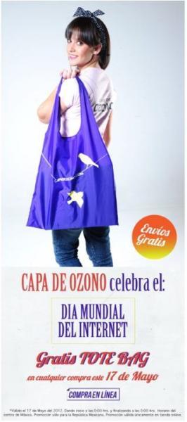 Capa de Ozono: Tote bag gratis con compra online