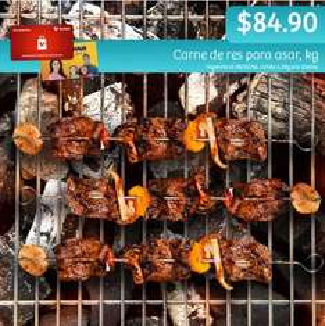 Soriana Híper y Súper: Recompensa Sábado 8 Octubre: Carne de res para asar $84.90 kg.