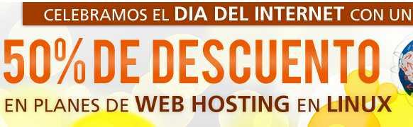 Xpress Hosting: 50% de descuento en planes de hosting
