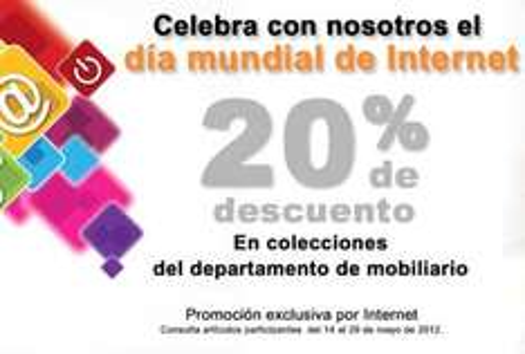 Office Depot: 20% de descuento en el departamento de mobiliario